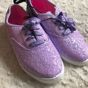 Other - New purple sparkle glitter sneaker shoes girls